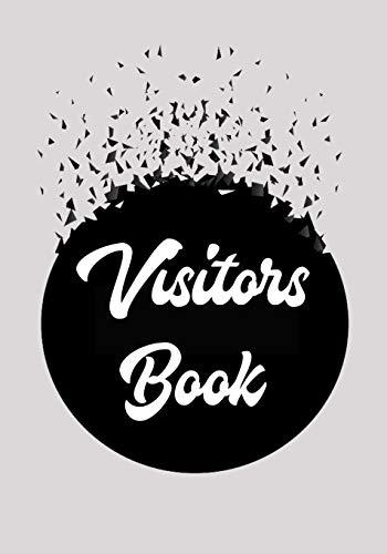 visitors book: visitors register book, visitor log book, Visitor Sign In Sheets, Visitor Register Book, log book for visitors to sign in, party guest book.