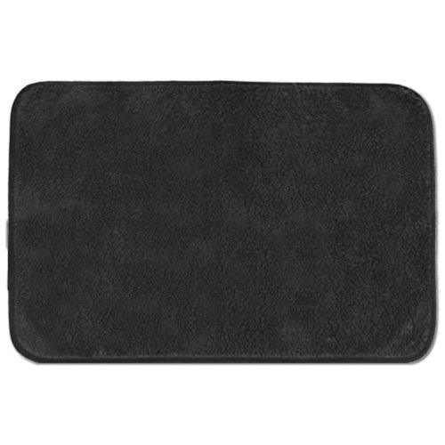 Tierdecke Lammflor Kuscheldecke Hundebett Katzendecke Auswahl: 70×100 cm Farbe: schwarz – jet black - 2