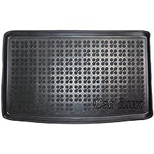 Car Lux AR02704 - Alfombra Cubeta Protector cubre maletero de goma y enrollable PREMIUM