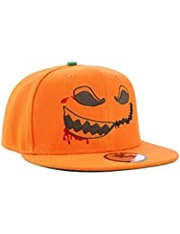 cosmétiques pour Halloween Orange citrouille Snapback Casquette de baseball