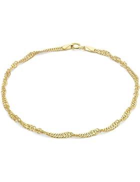 Carissima Gold Damen Rolokette Armband 9k (375) Gold 19cm/7.5zoll