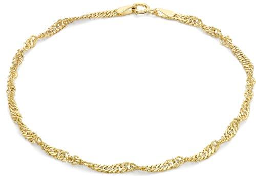 Carissima Gold Rolokette Armband 9k (375) Gelbgold 19cm/7.5zoll (Cartier-augen-gläser)