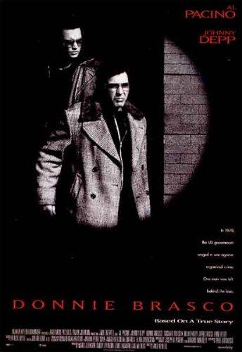 el Donnie Brasco Film Movie Kino POSTER ca, 100 x 70 cm CLASSIC Gangster Greatest Folien Kollektion beschrieben Messung von Monster AG - Mike Ltd ist Teil der Newell. Spielten Al Pacino, Johnny Depp, Michael Madsen. ()