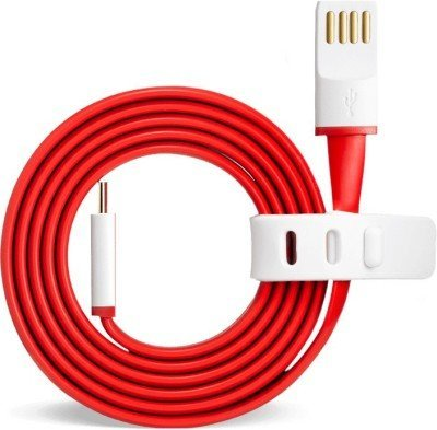 ShopsGeniune 1 Meter Type C High Speed USB Charging Data Cable (Red)