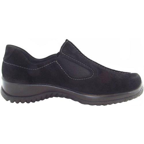 Legero Gore-Tex Softshoe, Chaussure basse femme noir (schwarz)