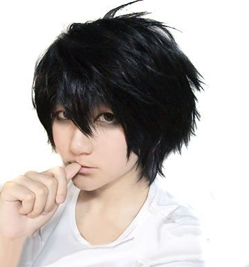 DEATH NOTE L Death Note Cosplay Per?cke Anime (Japan-Import)