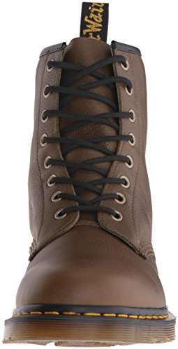 Dr.Martens Mens 1460 8 Eyelet Carpathian Leather Boots Oliva