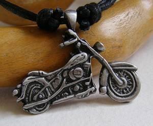 Harley? Peltro Moto, Easy Rider Ciondolo su collana