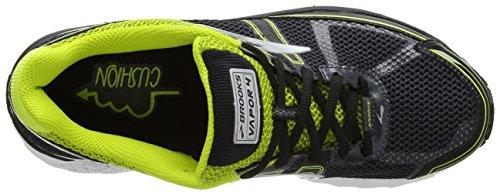 Brooks Vapor 4, Chaussures de Course Homme Multicolore (Anthracite/limepunch/silver)