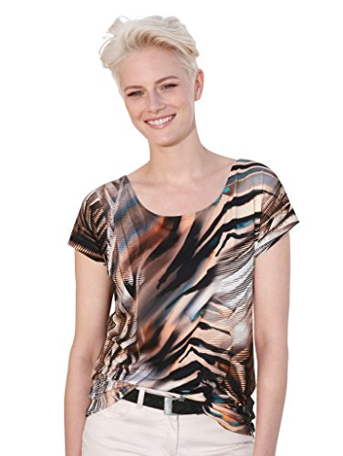 Damen Shirt mit Alloverdruck by AMY VERMONT Multicolor
