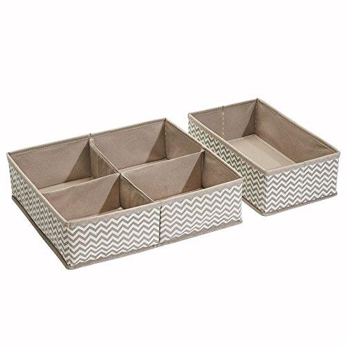 interdesign-04881eu-chevron-aufbewahrungsbox-aus-stoff-2-er-set-gro-5-fcher-plastik-taupe-natur-3556