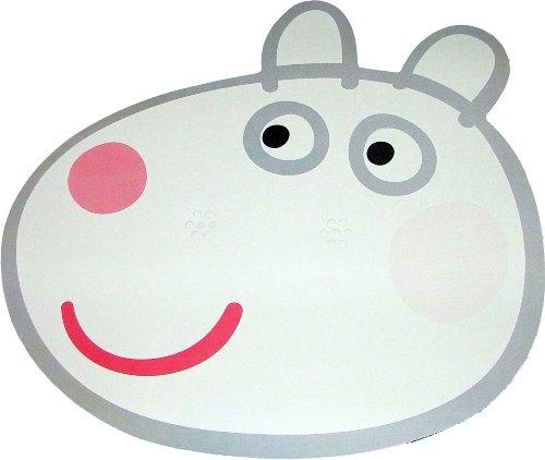 Kids Stars Peppa Pig - Suzie Sheep - Masque de Visage Fait en Carte Rigide