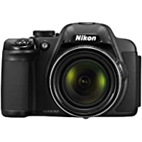 Nikon Coolpix P520 Camera - Black (18.1MP, 42xZoom, 24mm Wide Lens) 3.2 inch LCD