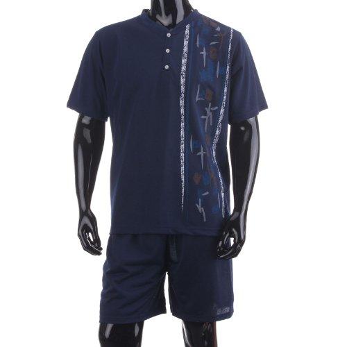 lucky-combinaison-de-plongee-pour-homme-avec-t-shirt-cuissard-court-pyjama-dete-motif-graphique-bleu