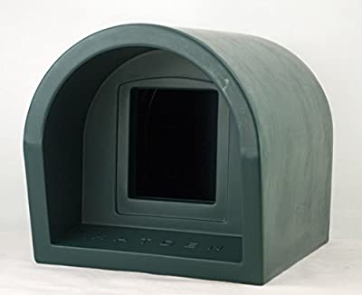 Mr Snugs KatDen Outdoor Cat Kennel/Shelter - Green (Various Options)