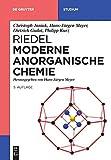 Riedel Moderne Anorganische Chemie (De Gruyter Studium) - Hans-Jürgen Meyer, Christoph Janiak, Dietrich Gudat, Philipp Kurz, Erwin Riedel