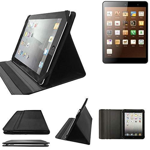 K-S-Trade Xoro TelePad 795 Schutz Hülle Business Case Tablet Schutzhülle Flip Cover Ultra Slim Bookstyle Tasche für Xoro TelePad 795, schwarz. Kunstleder Qualitätsware