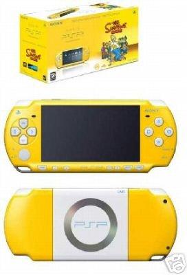 PSP Konsole Slim&Lite Simpsons gelb Limited Edition (Neu Sony Psp)