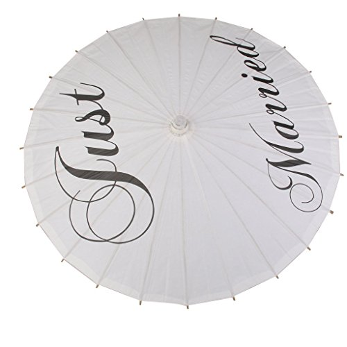 Huihuger Sombrilla de papel plegable para fotografía o decoración de boda a8a6f656dd5