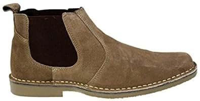 Roamers G0321Tps - Bottines - chelsea boots suède - hommes - UK9 EU43