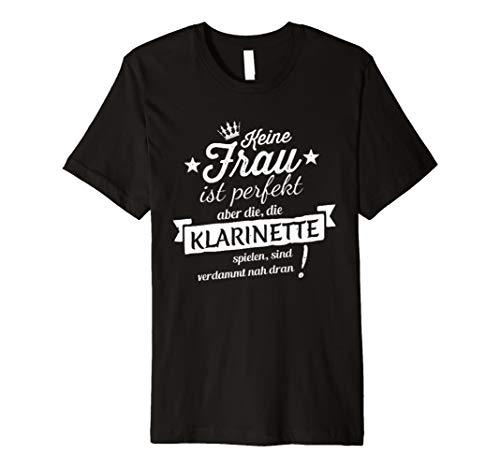 Klarinette t-shirt herren, damen und kinder lustig sprüche