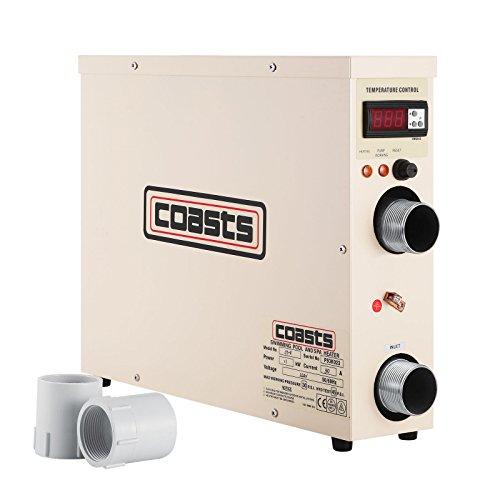 Guellin 11 KW Termostato de Pisina 220 V Calentador para Piscina Calentador de Piscina y SPA Calentador...