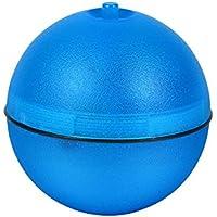 ueetek accesorios interactivos juguetes para gatos pelota electrónica de gato juguete automático para perro con luz LED (azul)