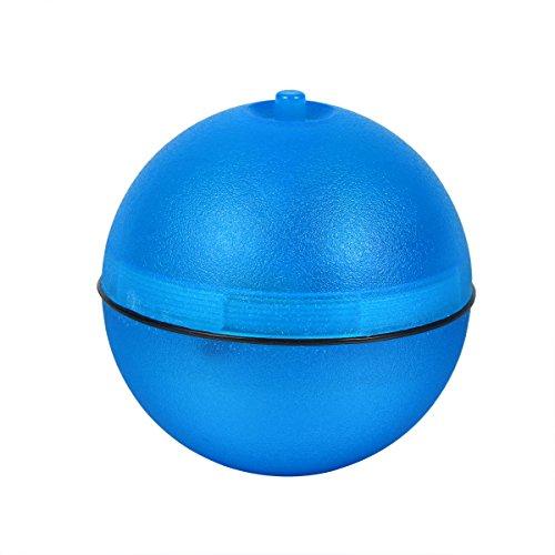 ueetek Interaktive Spielzeug für Katzen Ball Elektronische Katze Spielzeug Automatische für Hunde mit Licht LED (blau)