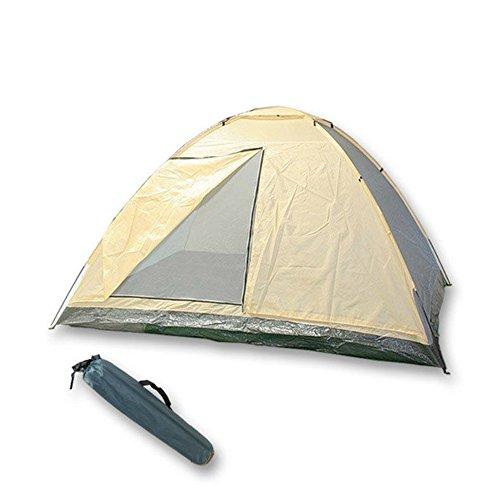 Tente de camping 2 places 140 x 200 x 110 cm Ciel 1938051 Sac de transport