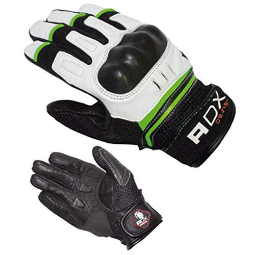 Guanti MI-Saison ADX XRUN nero/bianco/verde T 7 (PR) (XS) - Certificato EPI CATEGORIE 2- (pelle tessile + custodia di protezione)