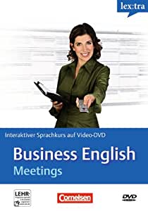 Business English:Meetings [Import allemand]