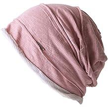 Casualbox Uomo Cappello a Tesa Larga Grande Grande Beanie Berretto Largo  Cappello Maglione Giapponese Moda f55e5f1a4e5d