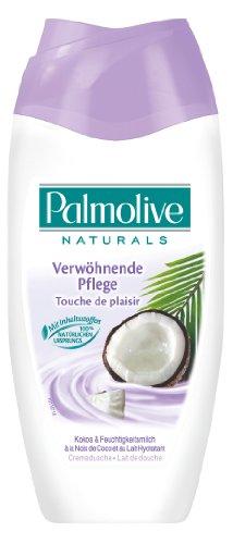 Palmolive Creme-Dusche Kokos & Feuchtigkeitsmilch, 6er Pack (6 x 250 ml)