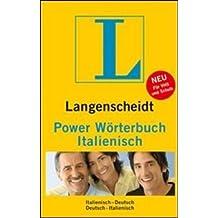Langenscheidt Power Wörterbuch Italienisch: Italienisch-Deutsch/Deutsch-Italienisch