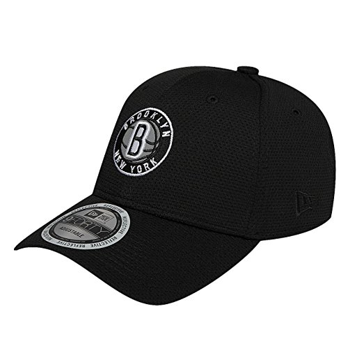 new-era-homme-casquettes-snapback-nba-reflective-pack-brooklyn-nets-9forty-noir-reglable