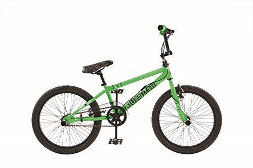20 ZOLL BMX KINDER FAHRRAD RAD KINDERFAHRRAD JUGENDFAHRRAD Freestyle 4 Pegs BURNER GRÜN - Zoll 20 Bmx Bike