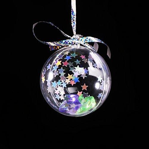 Lvcky Star Konfetti Holografische Sterne Glitzer Konfetti für Weihnachten Dekoration, Hochzeit Party Supplies und Nail Art, Multicolor, ()