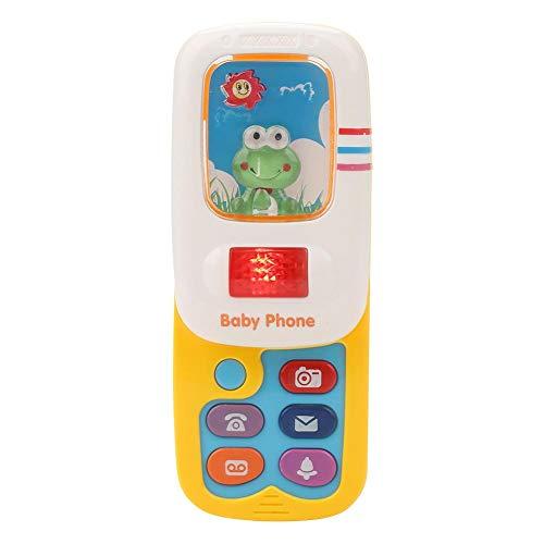 GLOGLOW Baby scherzt niedliches Simulations-Handy-musikalisches Spielzeug mit dem Hellen spielerischen Lernspielzeug - Niedlich Handy