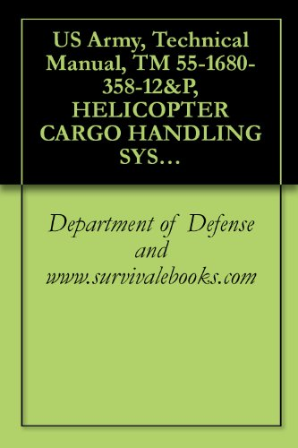 US Army, Technical Manual, TM 55-1680-358-12&P, HELICOPTER CARGO HANDLING SYST ARMY MODEL CH47 PART NUMBER: 18049 J 100, NSN 1680-01-197-1689, 1987 (English Edition) -