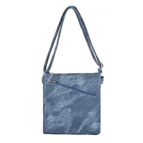 Ital-DesignSchultertasche Bei Ital-design - Borsa a spalla Donna blu/grigio Finishline Libre Del Envío CUga5K