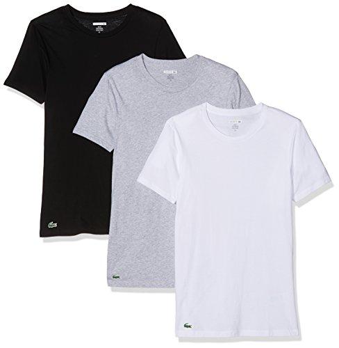 ee5075ea583d Lacoste Herren Unterhemd Multipack Slim Fit C N Tee (3PK), 3er Pack,  Mehrfarbig (Sortiert 1 901), Medium