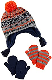 Simple Joys by Carter's Hat and Mitten Set Bebé-Niños, Pack