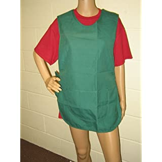 Tabards in a choice of 6 colours and 5 sizes, 35% cotton/65% polyester, Only £5.99 each All plus P&P (Bottle Green, Large 40/42 inches)