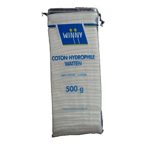 Winny paquet coton non pré-découpé 500 g - ( Prix Unitaire ) - Envoi Rapide Et Soignée
