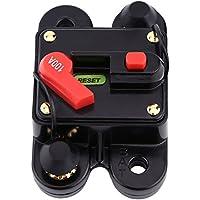 Disyuntor de 1pc DC12V para la bifurcación estérea audio del restablecimiento del audio de la bici del barco del coche 80-300A(100A)