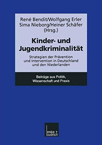 Kinder - Und Jugendkriminalität: Strategien Der Prävention Und Intervention In Deutschland Und Den Niederlanden