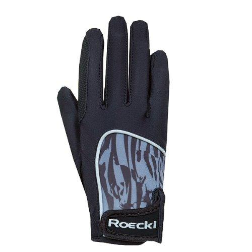 Roeckl sports ROECKL Kinder Handschuhe KUKA Lycra matt, schwarz, 6