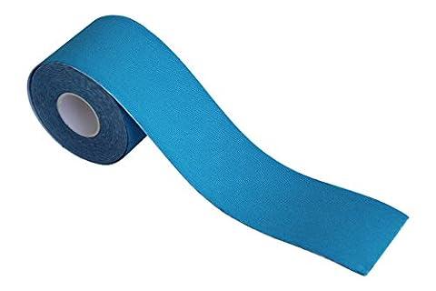 Kinesiologie Tape, 1Rolle, 5cm x 5m, therapeutische Sport Athletic Tape für Knie Schulter, Muskel Unterstützung, selbstklebend, wasserabweisend