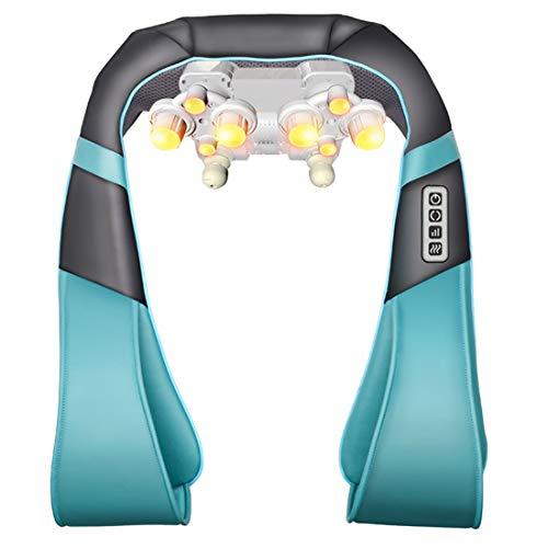 BBAQLY Shiatsu Massagegerät Nacken- und Schultermassagegerät Rücken Massager Elektrisch mit Wärmefunktion, Ideal für Hause,Büro