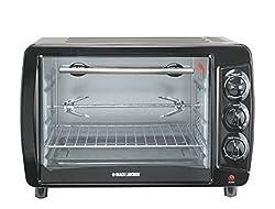 Black & Decker TRO55 1500-Watt 35-Litre Toaster Oven with Rotisserie